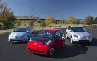 Toyota Enters The Car-Sharing Biz With A Fleet Of Scion iQ Electric Cars