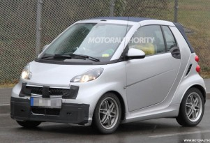 2013 Smart ForTwo facelift spy shots
