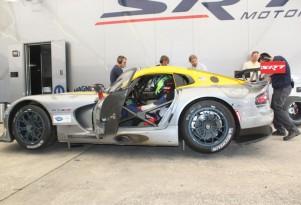 2013 SRT Viper GTS-R At Sebring winter test
