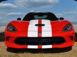 2013 SRT Viper in red and white livery