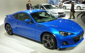 2013 Subaru BRZ Live Photos And Video: 2011 Tokyo Motor Show