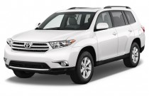2013 Toyota Highlander FWD 4-door V6 SE (Natl) Angular Front Exterior View