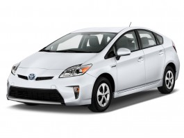 2013 Toyota Prius 5dr HB Three (Natl) Angular Front Exterior View