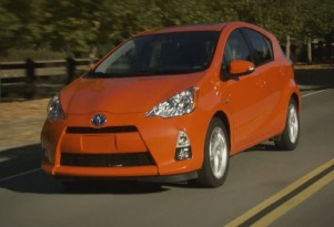 2012 Toyota Prius C: Video Shows Sporty Hybrid On The Road