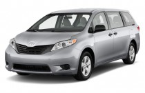 2013 Toyota Sienna 5dr 7-Pass Van V6 FWD (Natl) Angular Front Exterior View