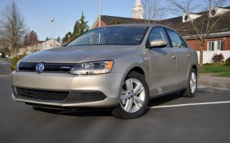 2013 Volkswagen Jetta Hybrid Video Road Test