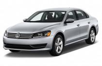 2013 Volkswagen Passat 4-door Sedan 2.5L Auto SE Angular Front Exterior View