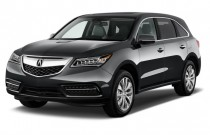 2014 Acura MDX FWD 4-door Tech Pkg Angular Front Exterior View