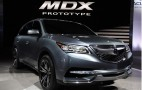 2014 Acura MDX Prototype Live Photos: 2013 Detroit Auto Show