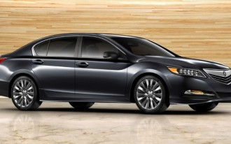 2014 Acura RLX Recalled For Suspension Flaw