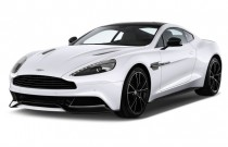 2014 Aston Martin Vanquish 2-door Coupe Angular Front Exterior View