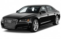 2014 Audi A8 4-door Sedan 3.0T Angular Front Exterior View