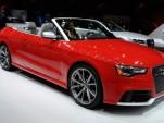 2014 Audi RS 5 Cabriolet live photos, 2013 Detroit Auto Show