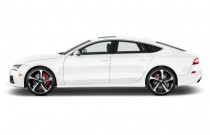 2014 Audi RS 7 4-door HB Prestige Side Exterior View