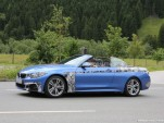 2014 BMW 4-Series Convertible spy shots