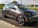 2014 BMW i3 REx range-extended electric car owned by Tom Moloughney - after delivery