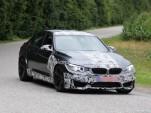 2014 BMW M3 spy shots