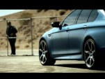 2014 BMW M5 Competition Package shows off for the camera