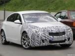 2014 Buick Regal GS facelift spy shots