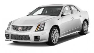 2014 Cadillac CTS-V 4-door Sedan Angular Front Exterior View