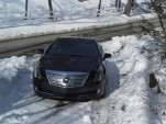 2014 Cadillac ELR test car in New York's Hudson Valley, March 2014