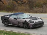 2014 Chevrolet Corvette (C7) Convertible spy shots