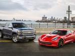 2014 Chevrolet Corvette Stingray and Silverado 1500