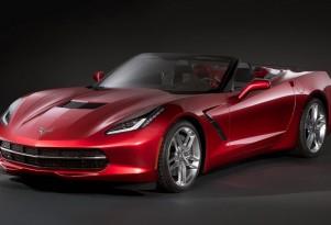2014 Chevrolet Corvette Stingray Convertible leaked image