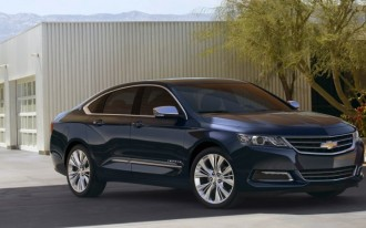 2015 Chevy Impala Drops Mild Hybrid, Adds Stop/Start