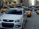 2014 Chevrolet SS in Holden's ad for the VF Commodore