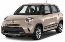 2014 FIAT 500L 5dr HB Trekking Angular Front Exterior View