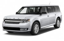 2014 Ford Flex 4-door SEL FWD Angular Front Exterior View