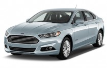 2014 Ford Fusion Energi 4-door Sedan Titanium Angular Front Exterior View