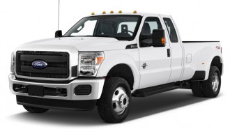 """2014 Ford Super Duty F-350 SRW 4WD SuperCab 142"""" XL Angular Front Exterior View"""