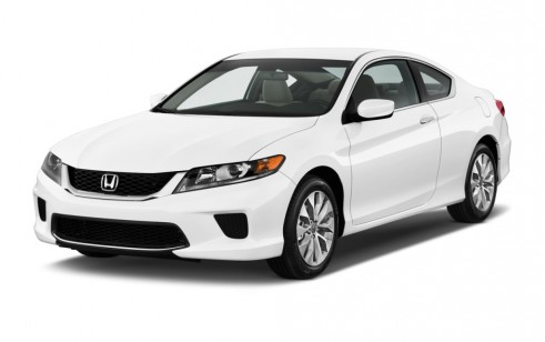 Nice 2014 Honda Accord Coupe 2 Door I4 CVT LX S Angular Front Exterior View