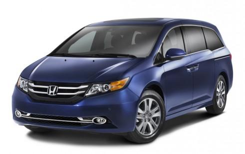 2014 Honda Odyssey vs Chrysler Town & Country, Dodge Grand Caravan, Ford Flex, Lincoln MKT ...