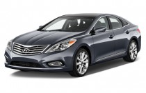 2014 Hyundai Azera 4-door Sedan Angular Front Exterior View