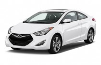 2014 Hyundai Elantra Coupe 2-door Angular Front Exterior View