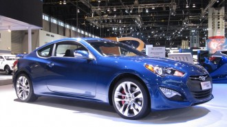 2014 Hyundai Genesis Coupe at 2014 Chicago Auto Show
