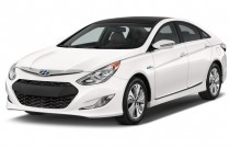 2014 Hyundai Sonata Hybrid 4-door Sedan Limited Angular Front Exterior View