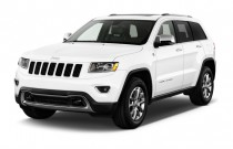 2014 Jeep Grand Cherokee 4WD 4-door Limited Angular Front Exterior View