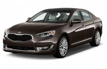 2014 Kia Cadenza 4-door Sedan Premium Angular Front Exterior View