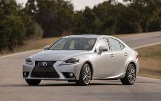 2014 Lexus IS Earns NHTSA Five-Star Crash Rating