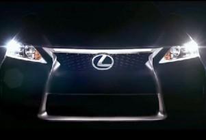 2014 Lexus IS teaser