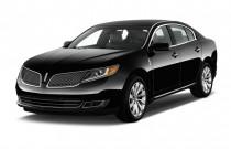 2014 Lincoln MKS 4-door Sedan 3.7L FWD Angular Front Exterior View