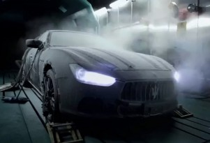 2014 Maserati Ghibli during extreme weather testing