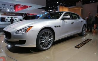 2014 Maserati Quattroporte: 2013 Detroit Auto Show