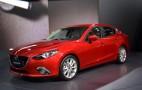 2014 Mazda 3 Sedan Live Photo Gallery: 2013 Frankfurt Auto Show