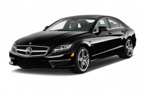 2014 Mercedes-Benz CLS Class 4-door Sedan CLS63 AMG 4MATIC Angular Front Exterior View