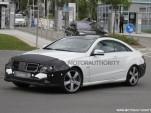 2014 Mercedes-Benz E Class Coupe spy shots